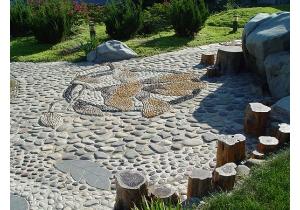 Природный камень укладка своими руками фото 306