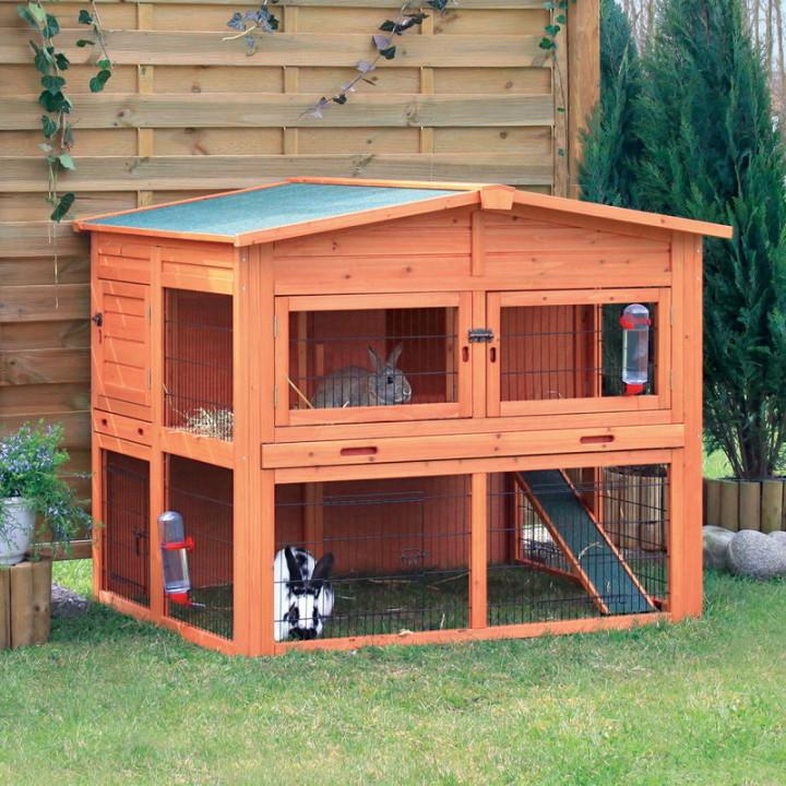 Как сделать дом для кролика