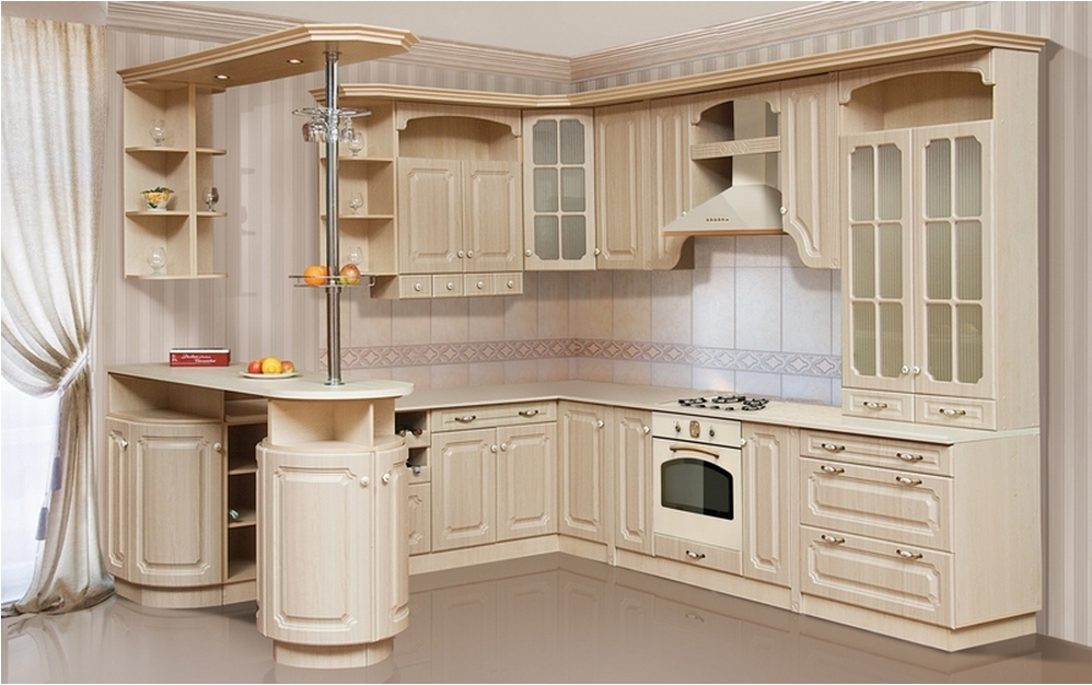 Угловая кухня для маленькой кухни картинки фото 15