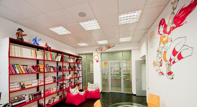 библиотека в доме
