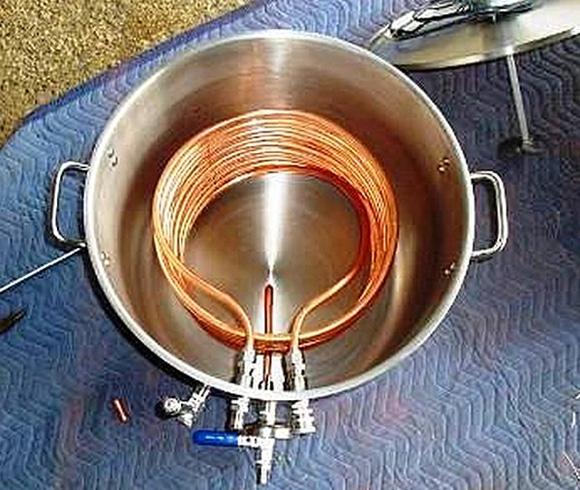 Горячая вода газовая плита своими руками