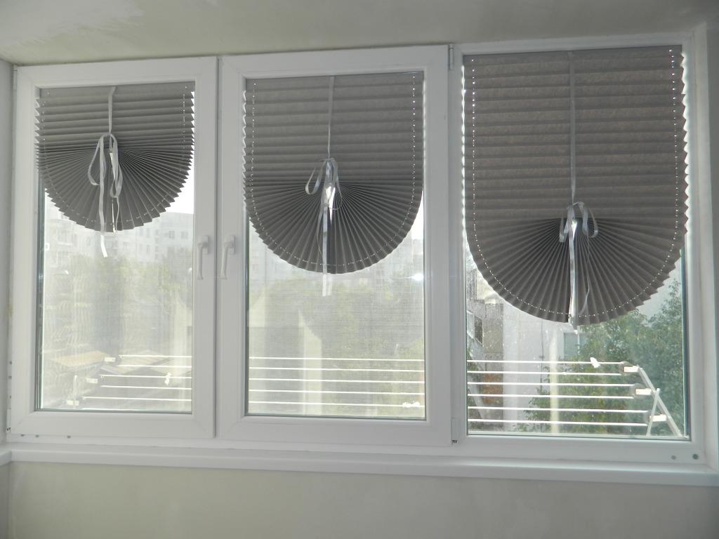 Временные шторы на окна своими руками 86