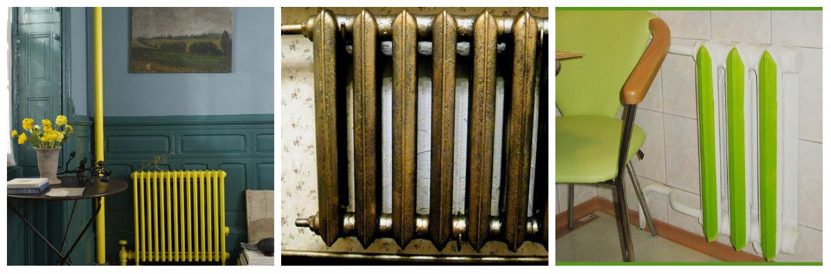 Радиатор отопления дизайн своими руками