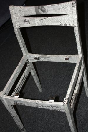 декупаж стула