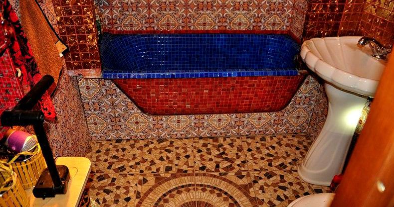 декор ванны своими руками мозайкой
