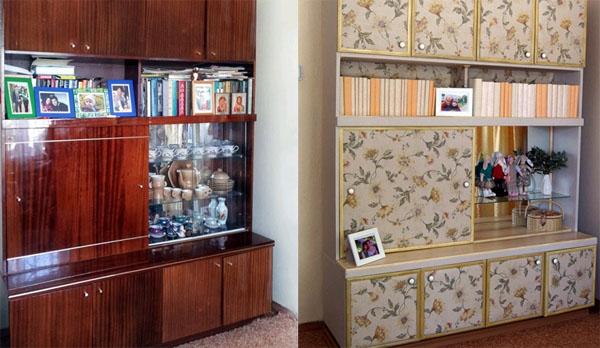 декупаж мебели деревянной