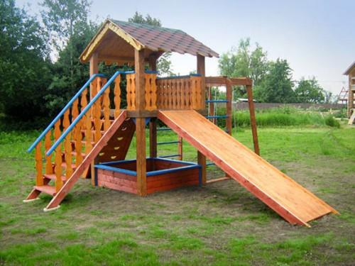 Детские площадки из дерева своими руками фото схемы 29