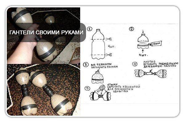 Как сделать грушу с бутылкой