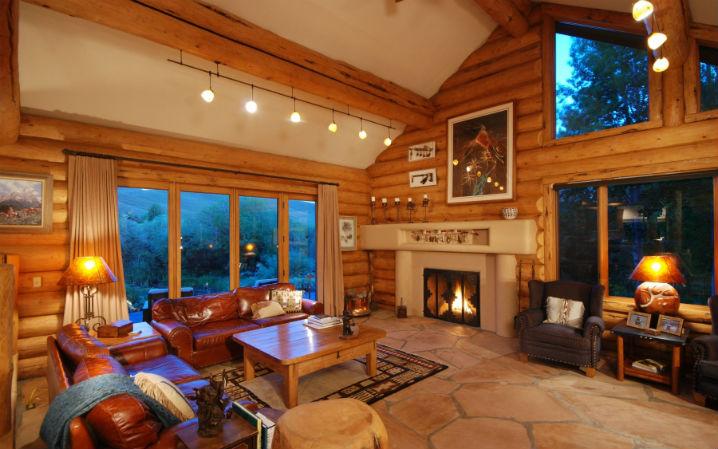 Дизайн интерьера дачного дома фото