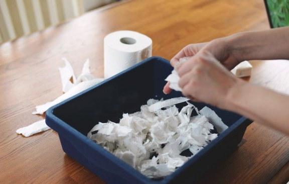 Как сделать из бумаги снегу