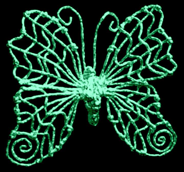 как сделать бабочку из фольги