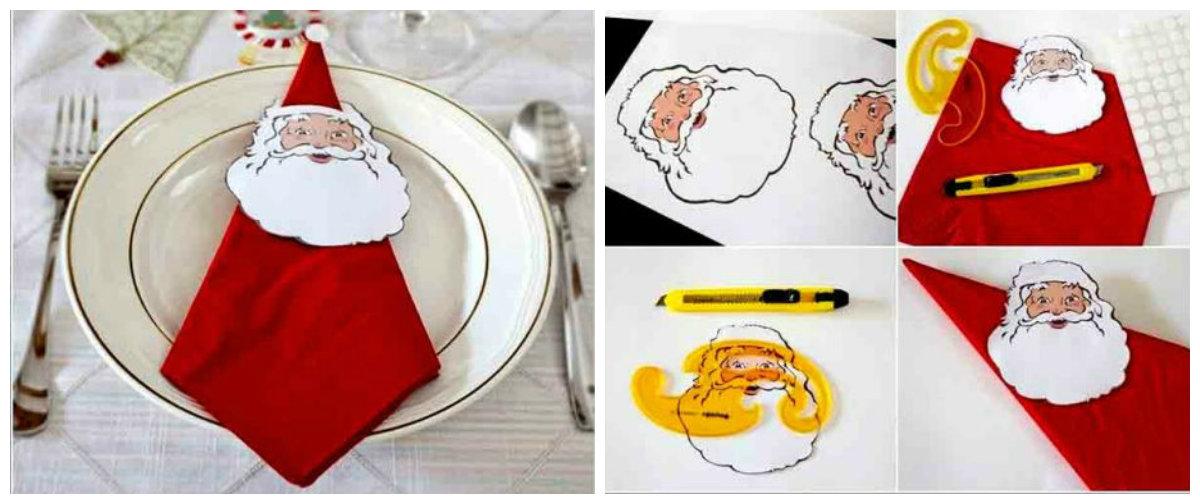 салфетка Дед Мороз