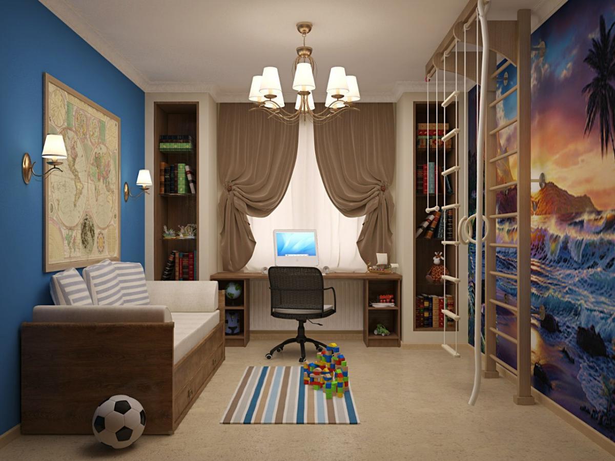 украшаем детскую комнату