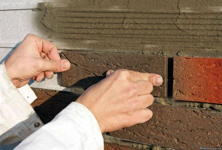 Как сделать имитацию клинкерной плитки своими руками