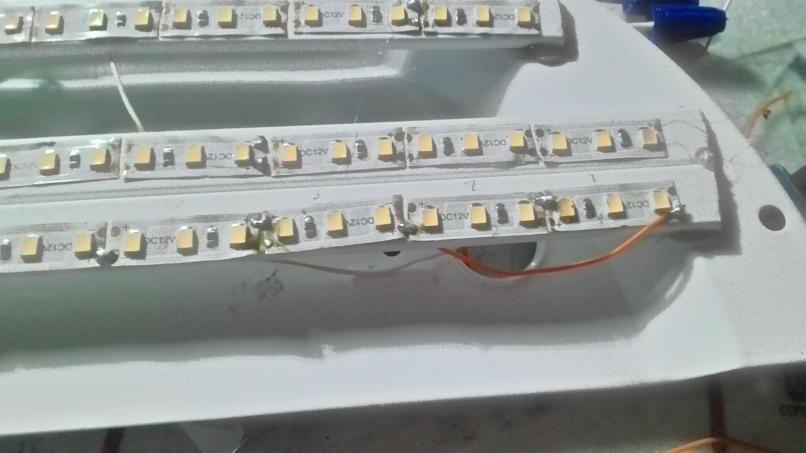 Как самому сделать светодиодный светильник 463
