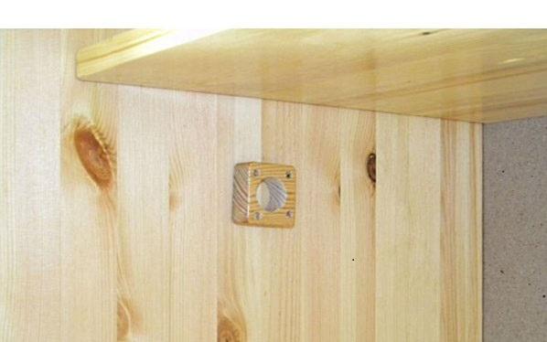 Шкаф из мебельного щита дсп своими руками