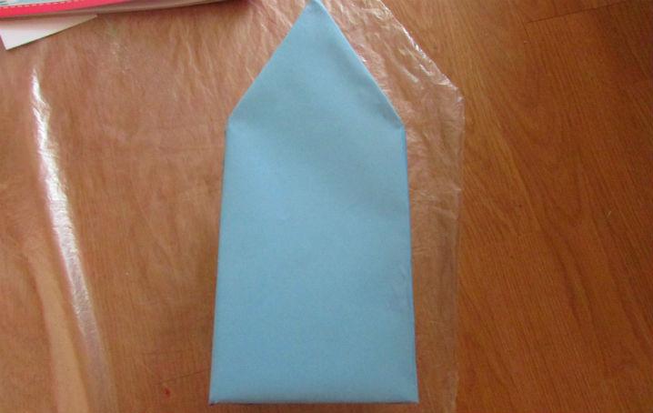 Как делать дед мороза из бумаги своими руками