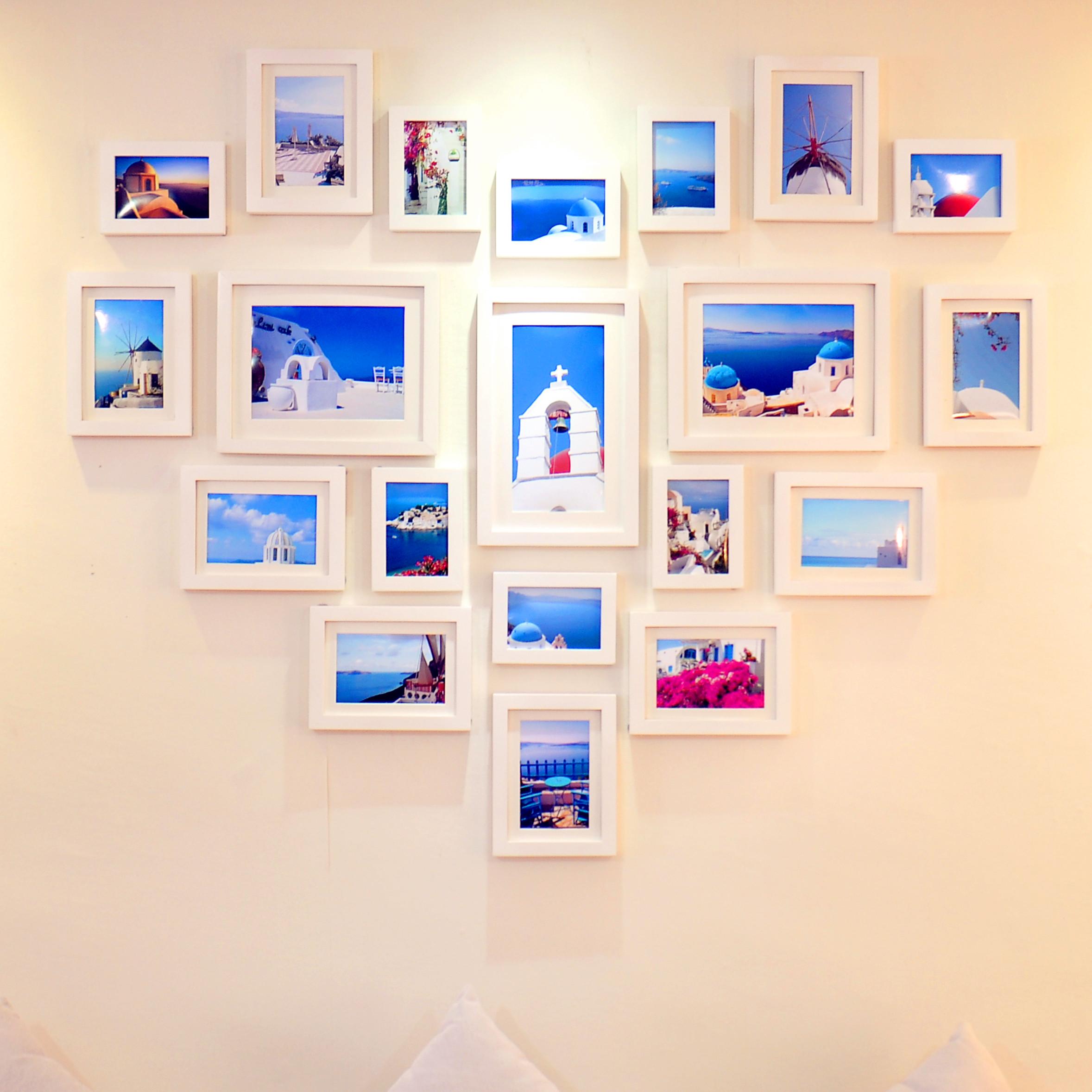 как понятно как красиво оформить стену фотографиями для перевозки сырой