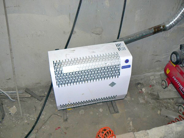Отопление в гараж электрическое своими руками