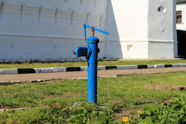 Колонка для воды своими руками