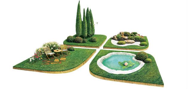 Модуль ландшафтный дизайн