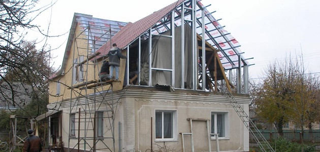 Как построить второй этаж