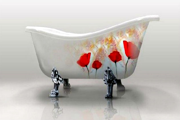 Декор ванны своими руками