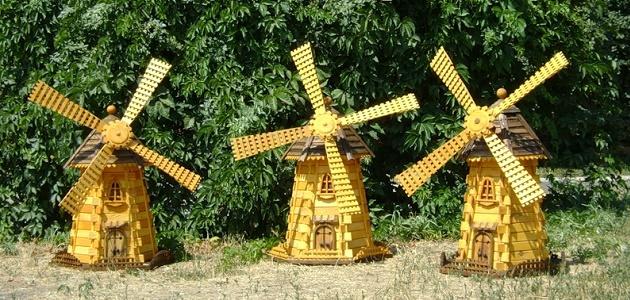 Ветряная мельница своими руками на