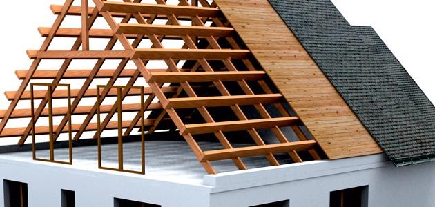 Зимнего ремонт сада крыши