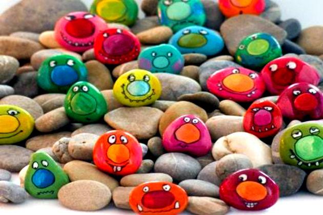 картинки из камушков своими руками