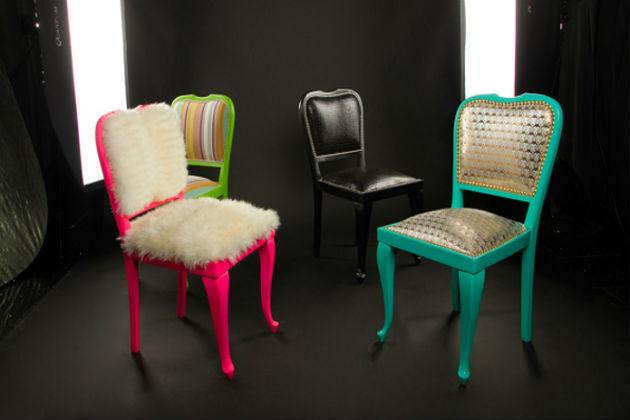 Декор стульев - декупаж и реставрация