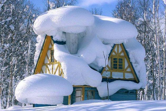 Чистка снега с крыш санкт-петербурга
