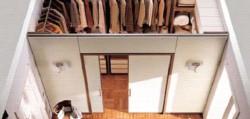 гардеробная комната кладовки