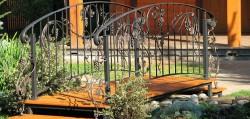 декоративные мостики даче