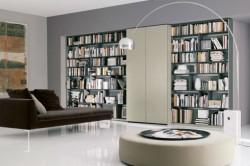 интерьер библиотеки доме