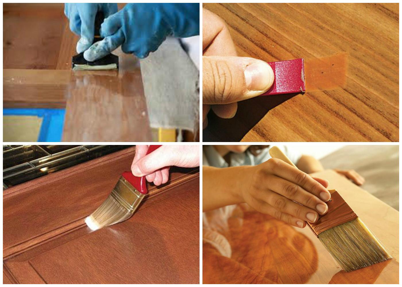 Как покрыть двери шпоном своими руками