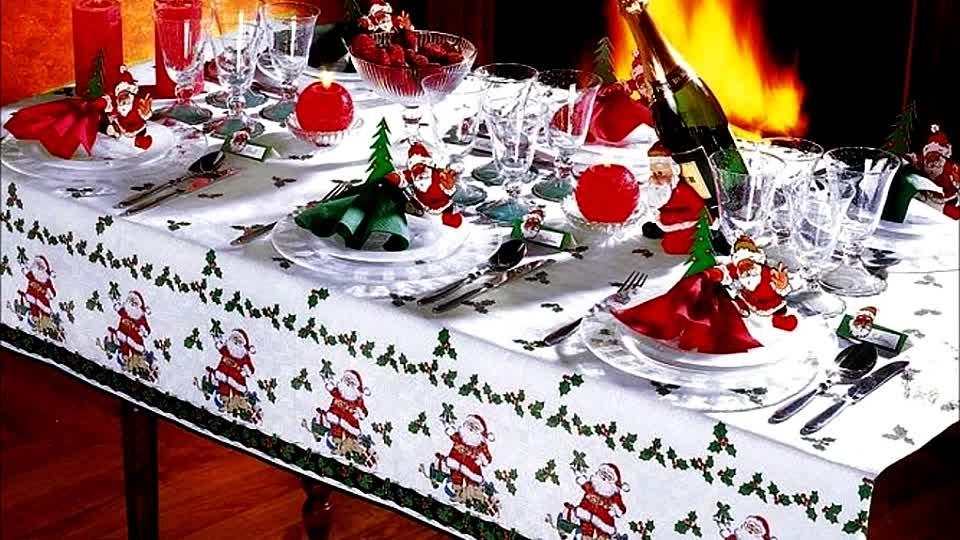 Новогодние украшения праздничного стола своими руками