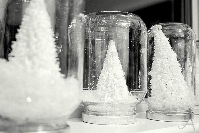снег своими руками из пенопласта