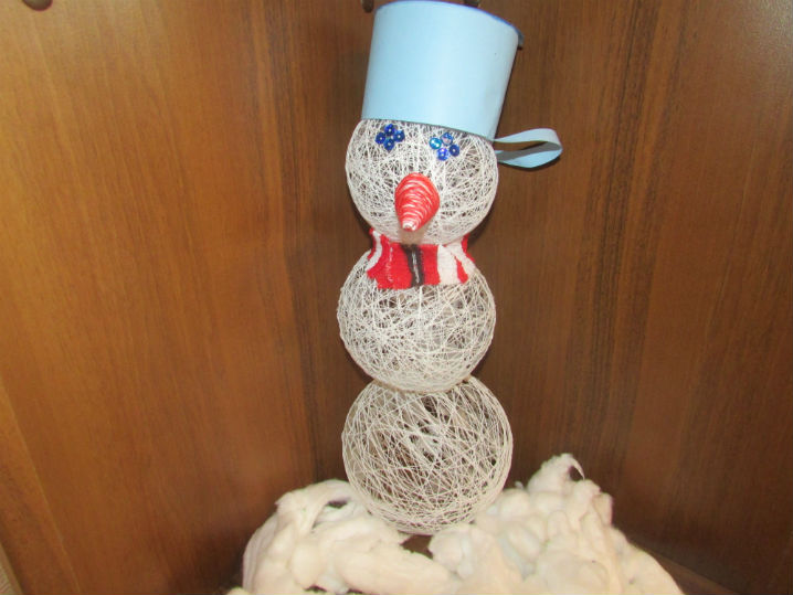 Как сделать ведро для снеговика своими руками