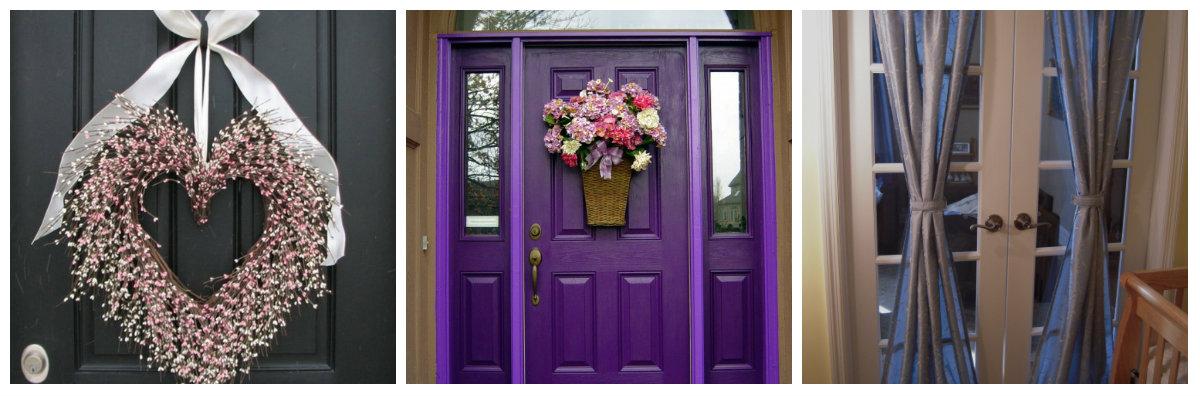Украшения на дверь своими руками фото 122