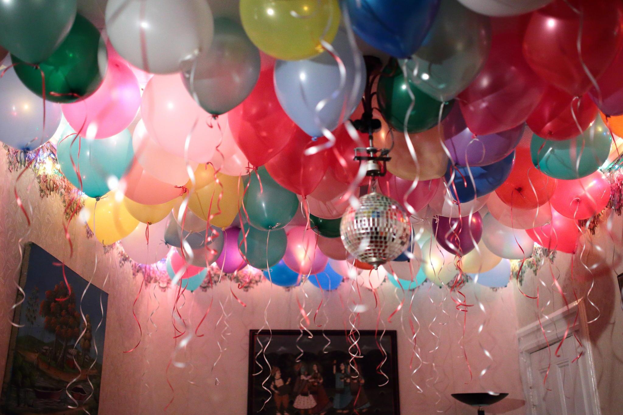 украшаем комнату на день рождения