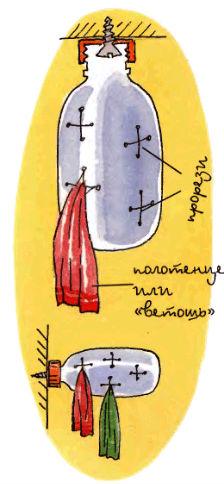 умывальник для дачи из бутылки