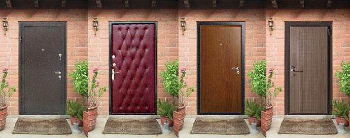 Сколько стоит входная дверь в квартиру с установкой