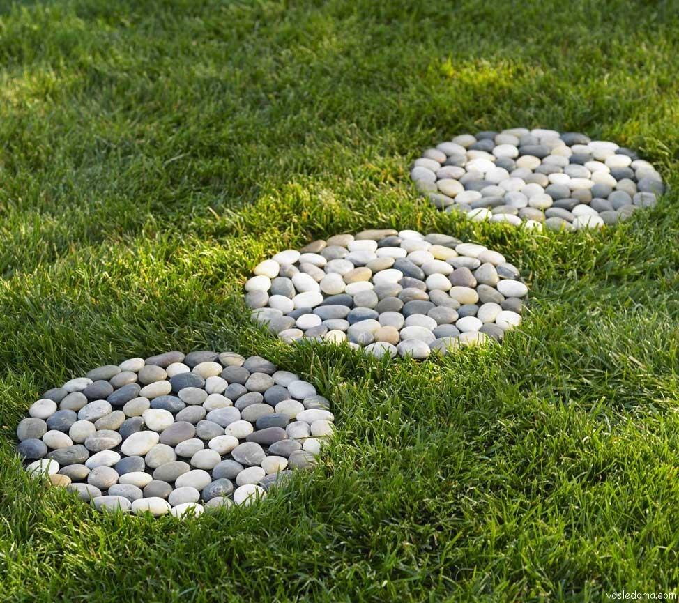Декоративные дорожки в саду фото