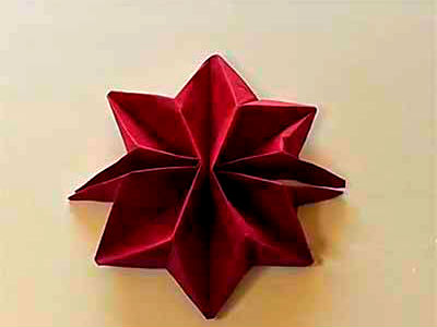 салфетка-звезда